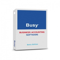BUSY Business Accounting Software BASIC Edition-Single User