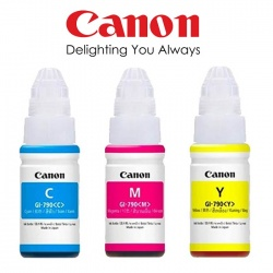 Canon GI-790 Ink Bottle (Yellow Magenta Cyan)
