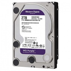 Western Digital WD20PURZ 2TB Internal Hard Drive for CC Camera (Purple)