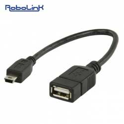 USB Female To Mini USB Converter