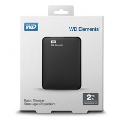 WD Elements 2TB USB 3.0 Portable External Hard Drive